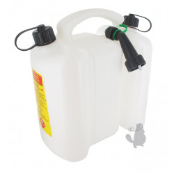 Jerrycan double usage F1 3 + 6 litres
