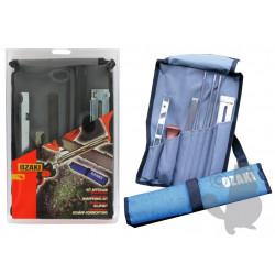Kit d'affutage complet avec sacoche de transport