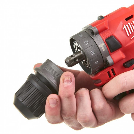Perceuse à percussion MILWAUKEE M12FPDXKIT
