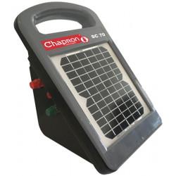 Electrificateur avec module solaire intégré Chapron SC70