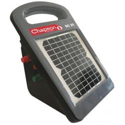 Electrificateur avec module solaire intégré Chapron SC25