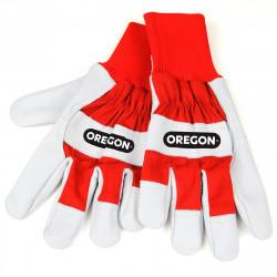 Gants en cuir et tissu Oregon